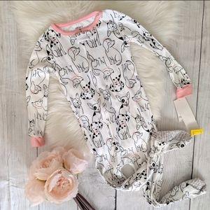 BNWT 3t Carter's Pajama Onesie